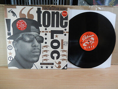 Tone loc - Loc'ed After Dark (1987 Delicious) LP