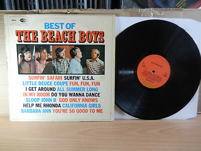 The Best Of The Beach Boys (Capitol) LP