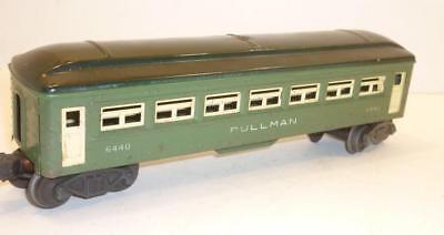 LIONEL 0 gauge POST-WAR PULLMAN PASSENGER CAR - GREEN - 6440,                  w