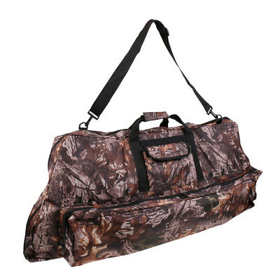 Archery Camo Recurve Compound Bow Bag Case Arrow Holder Backpack Hunting