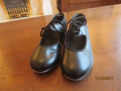 Black Tap Shoes Size 1 Girls Dance Shoes