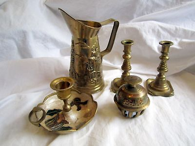 Antique And Vintage Brass Collection