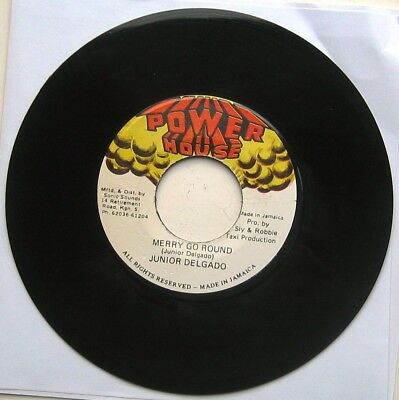 JUNIOR DELGADO / MERRY GO ROUND / Left Back [POWER HOUSE] 7""