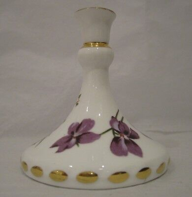 Hammersley 'Victorian Violets' Miniature Candle Holder
