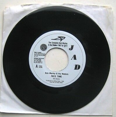 BOB MARLEY & THE WAILERS / NICE TIME / Soul Mix & Acapella mix [ JAD ] 7""