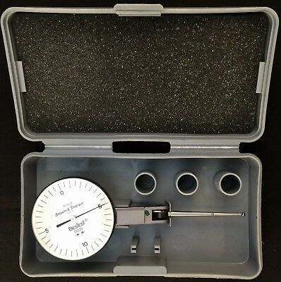 """Brown & Sharpe 599‑7035‑3 Dial Test indicator, 0 to 0.020"""""""
