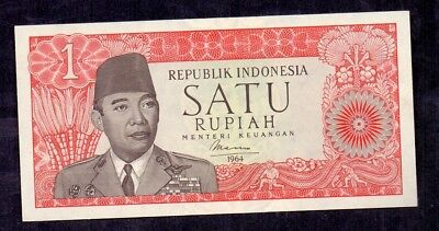 1 Rupiah From Indonesia 1964 Unc
