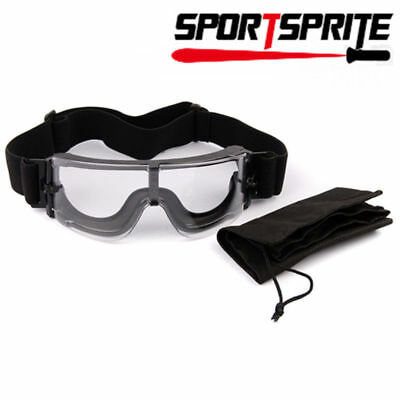USMC X800 Tactical Goggles Shooting GX1000 Glasses Clear Lens Eye Protector