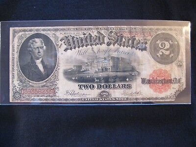1917 $2 United States Note **free Shipping**