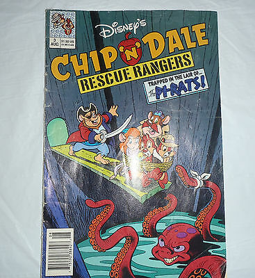 Disney Chip 'N Dale Rescue Rangers #3 Comic Book