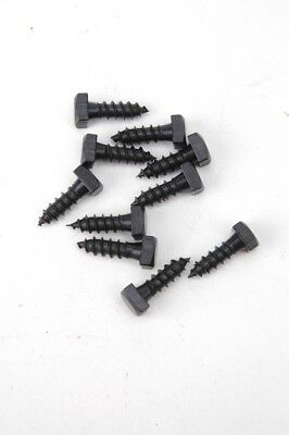 "Lag Bolt Screws Square Head Black Oxide 1/4"" X 3/4"" LBB1434"