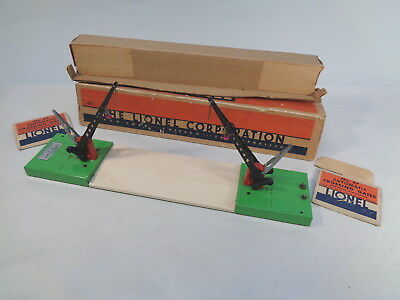 Lionel 47 Crossing Gate Accessory Late Ob Prewar O-Gauge #x4061