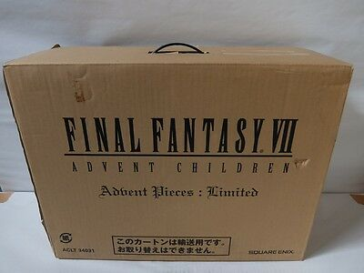 Final Fantasy VII 7 Advent Children Limited Edition Box NEW Rare!