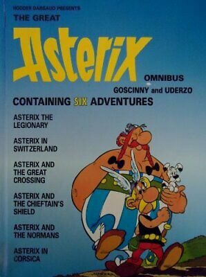 The Great Asterix Omnibus by Uderzo Hardback Book The Cheap Fast Free Post