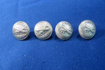 Vintage Airplane Buttons Aviation Military?