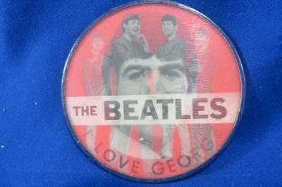 Vintage The Beatles Button I love George, Flicker Button