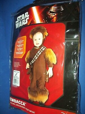 Star Wars HALLOWEEN COSTUME Infant toddler - CHEWBACCA 24 months 2 year new