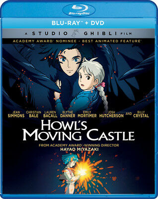 Howl's Moving Castle [New Blu-ray] With DVD, Widescreen, 2 Pack