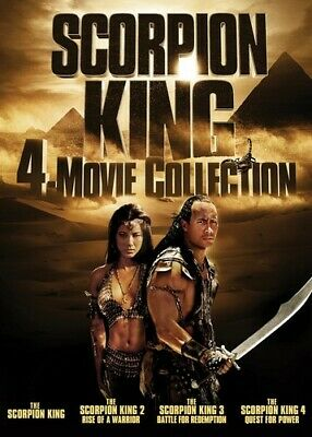 Scorpion King: 4-Movie Collection [New DVD] 2 Pack