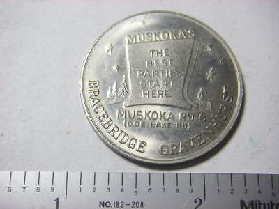 Muskoka's Drive In (ON) trade dollar 1952-1978
