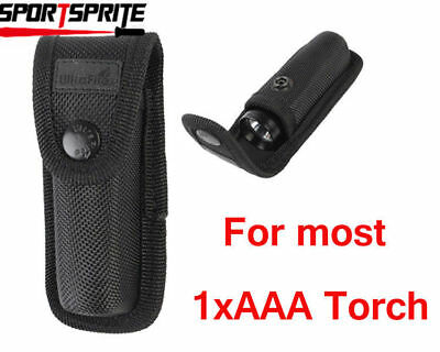 UltraFire Airsoft Tactical Handheld Flashlight Pouch Small Black