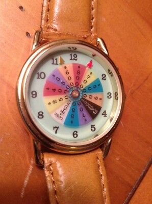 Wheel Of Fortune Collectible Watch--Works Great--Needs Battery