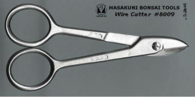 Masakuni bonsai tools wire cutter 110 mm / small / Silver #8009