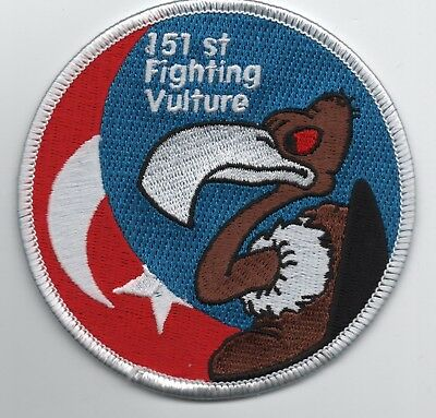 Turkish Air Force 151 Filo patch, the Vultures, F-16