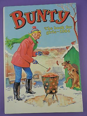 Bunty The Book For Girls 1984 - Old Shop Stock Item!