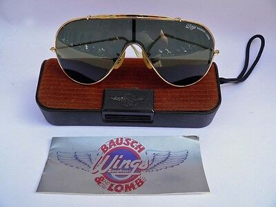 RAY BAN BAUSCH & LOMB WINGS sunglasses occhiali vintage