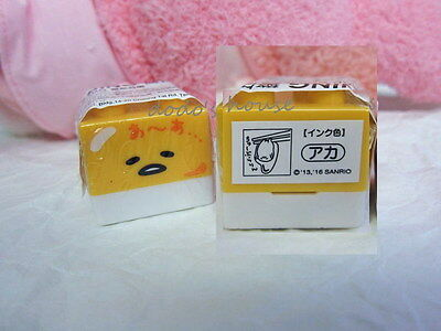 Sanrio Japan Gudetama Stationery Lego Stamper Stamp B