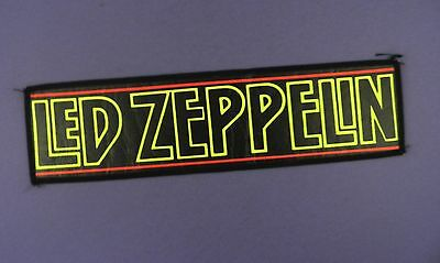Led Zeppellin - Vintage Sew On Cloth Patch