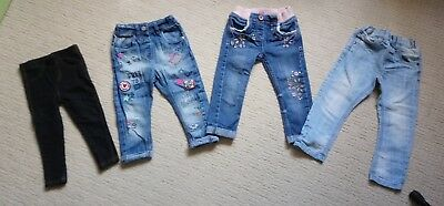 girls jeans size 1,5-2 years 18-24 months include next