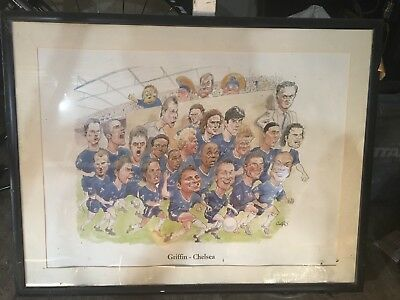 Chelsea Football Club Griffin Poster