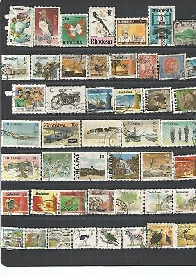 Zimbabwe 47 Used  Stamps. Nice , See Scan