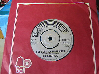 The Glitter Band - Let's Get Together Again  1974  Vinyl Ex/con