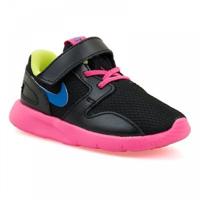 Nike Toddlers Girls Trainers Black Pink School Sports Running Infant Shoes Size