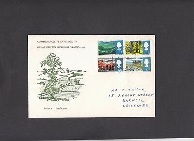 1966 Landscapes unusual illustration First Day Cover.