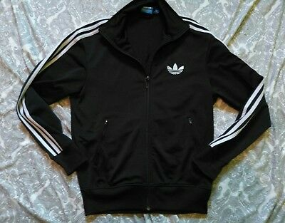 mens adidas trefoil tracksuit top size small