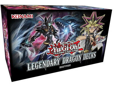 Yu-Gi-Oh ! LEGENDARY DRAGON DECKS III 3 Holiday Box 2017 Deutsch DE LGDD NEU+OVP