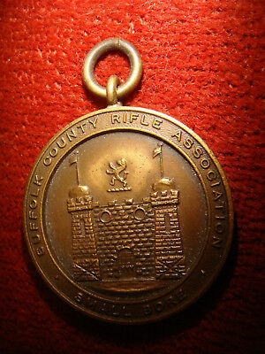 Vintage Suffolk County Rifle Association Medal 1962-63