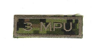 Obsolete Modern Canadian Army CADPAT 3 Military Police Unit Title