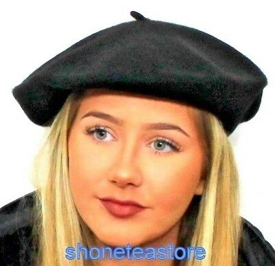 Quality Ladies Womens Wool Beret in a Choice of Vibrant Colours