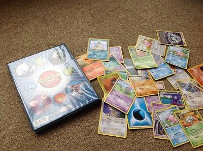 Old Pokemon Cards And Pokemon Trading Card Game Folder