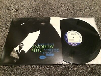 "Andrew Hill Trio:""smoke Stack"".1995 Usa Blue Note.near Mint.heavyweight Vinyl."