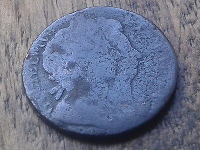 William & Mary Farthing 1694