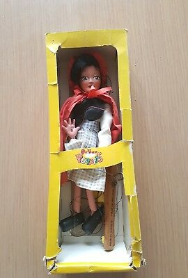 Vintage - Pelham Puppet - Sl11 - Red Riding Hood - Excellent - Boxed -