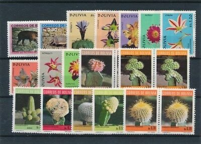 [91501] Bolivia Fauna/Flora good lot Very Fine MNH stamps