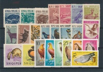 [91529] Albania Fauna good lot Very Fine MNH stamps