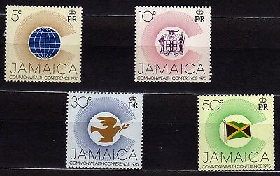 Jamaica #394-397 Mnh Commonwealth Heads Of Government Conference